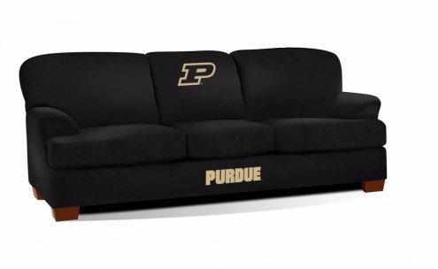 Purdue Boilermakers First Team Microfiber Sofa