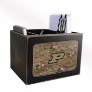 Purdue Boilermakers Floral Desktop Organizer