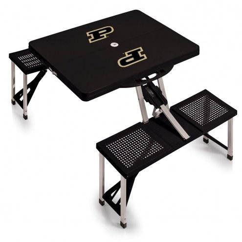 Purdue Boilermakers Folding Picnic Table
