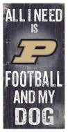 Purdue Boilermakers Football & My Dog Sign
