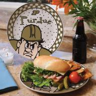 Purdue Boilermakers Gameday Ceramic Plate