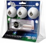 Purdue Boilermakers Golf Ball Gift Pack with Kool Tool