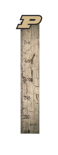 Purdue Boilermakers Growth Chart Sign