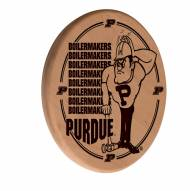 Purdue Boilermakers Laser Engraved Wood Sign