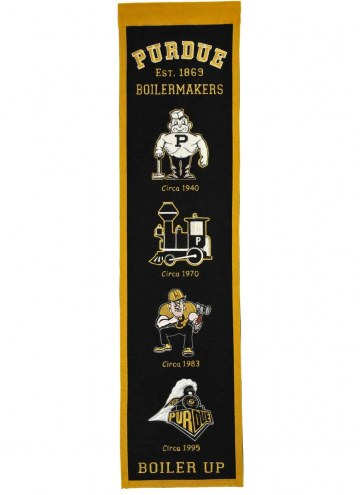 Purdue Boilermakers Heritage Banner