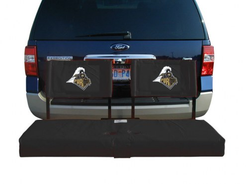 Purdue Boilermakers Tailgate Hitch Seat/Cargo Carrier
