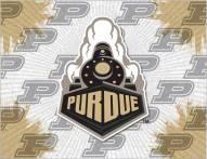 Purdue Boilermakers Logo Canvas Print