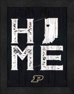 Purdue Boilermakers Home Away From Home Wall Decor