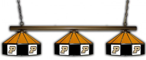 Purdue Boilermakers 3 Shade Pool Table Light