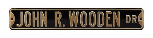 Purdue Boilermakers John R Wooden Street Sign
