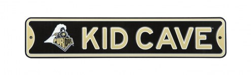 Purdue Boilermakers Kid Cave Street Sign