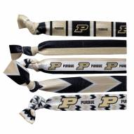 Purdue Boilermakers Knotted Hair Tie