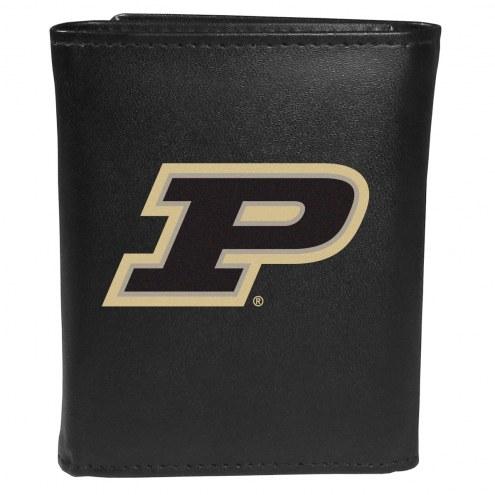 Purdue Boilermakers Large Logo Tri-fold Wallet
