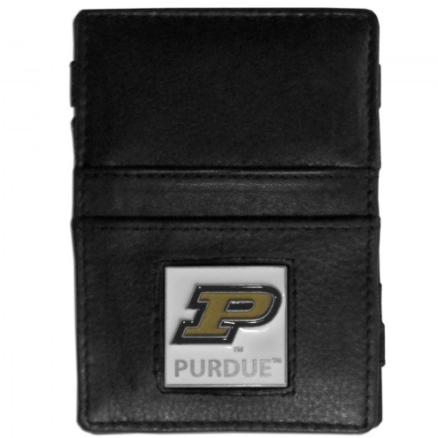 Purdue Boilermakers Leather Jacob's Ladder Wallet