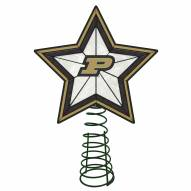 Purdue Boilermakers Light Up Art Glass Tree Topper