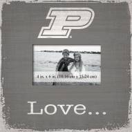 Purdue Boilermakers Love Picture Frame