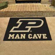 Purdue Boilermakers Man Cave All-Star Rug