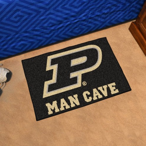 Purdue Boilermakers Man Cave Starter Mat