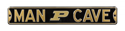 Purdue Boilermakers Man Cave Street Sign