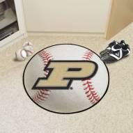 Purdue Boilermakers NCAA Baseball Rug