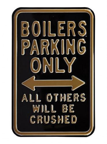 Purdue Boilermakers NCAA Embossed Parking Sign