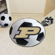 Purdue Boilermakers NCAA Soccer Ball Mat