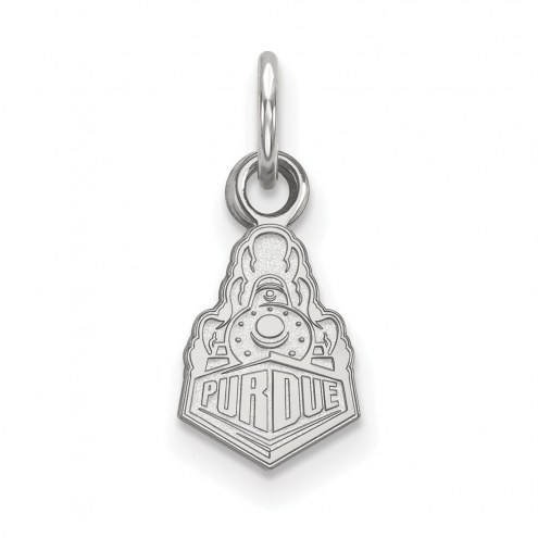 Purdue Boilermakers Sterling Silver Extra Small Pendant