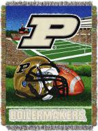 Purdue Boilermakers NCAA Woven Tapestry Throw Blanket