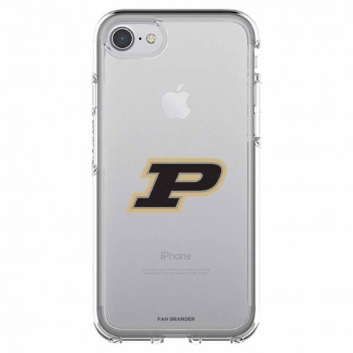 Purdue Boilermakers OtterBox iPhone 8/7 Symmetry Clear Case