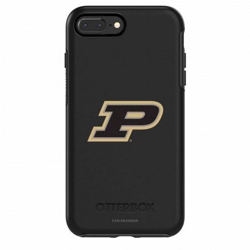 Purdue Boilermakers OtterBox iPhone 8 Plus/7 Plus Symmetry Black Case