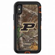 Purdue Boilermakers OtterBox iPhone X Defender Realtree Camo Case