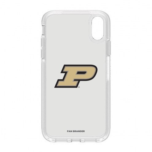 Purdue Boilermakers OtterBox iPhone XR Symmetry Clear Case