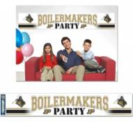 Purdue Boilermakers Party Banner