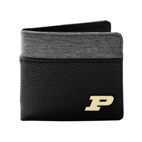 Purdue Boilermakers Pebble Bi-Fold Wallet