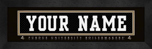 Purdue Boilermakers Personalized Stitched Jersey Print