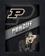 Purdue Boilermakers Framed 3D Wall Art