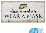 Purdue Boilermakers Please Wear Your Mask Sign