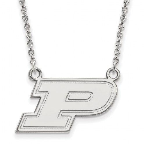 Purdue Boilermakers Sterling Silver Small Pendant Necklace