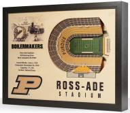 Purdue Boilermakers 25-Layer StadiumViews 3D Wall Art