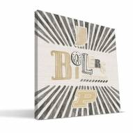 Purdue Boilermakers State Canvas Print