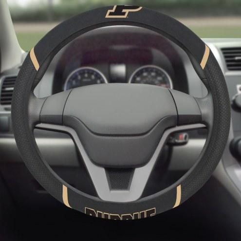 Purdue Boilermakers Steering Wheel Cover
