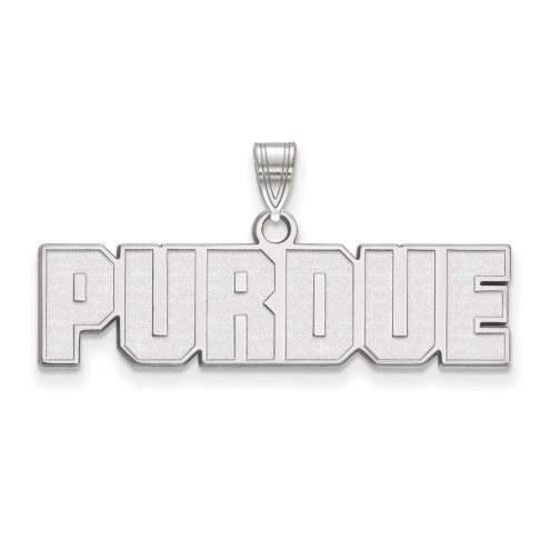 Purdue Boilermakers Sterling Silver Small Pendant