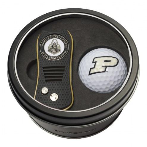 Purdue Boilermakers Switchfix Golf Divot Tool & Ball