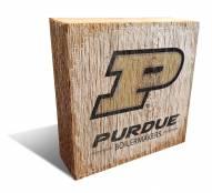 Purdue Boilermakers Team Logo Block