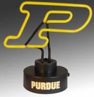Purdue Boilermakers Team Logo Neon Lamp