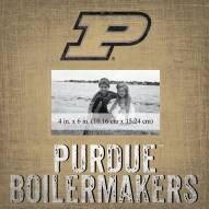 """Purdue Boilermakers Team Name 10"""" x 10"""" Picture Frame"""