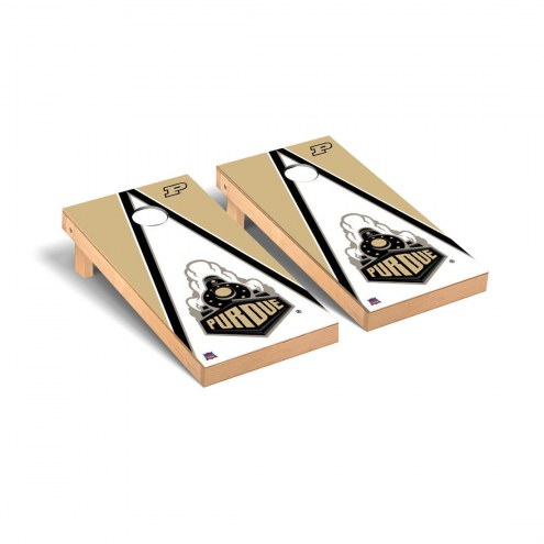 Purdue Boilermakers Triangle Cornhole Game Set