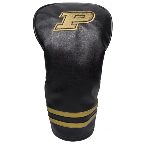 Purdue Boilermakers Vintage Golf Driver Headcover