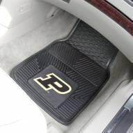 Purdue Boilermakers Vinyl 2-Piece Car Floor Mats