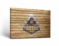Purdue Boilermakers Weathered Canvas Wall Art